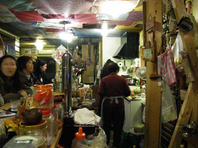 Miko-an kitchen