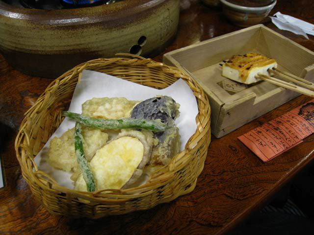 Jyun-sei, Vegetable Tempura