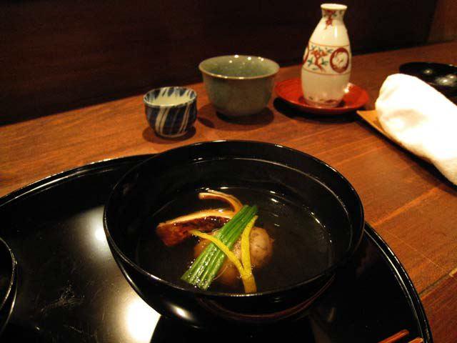 A special masutake soup