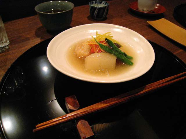 Kaiseki at Uzuki
