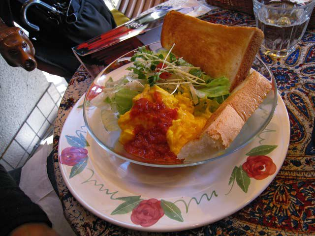 Omlette at Cafe Angelina