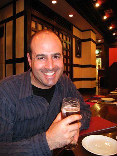 Ken with Beer